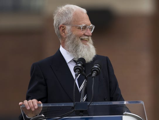 David Letterman will launch a Netflix series in 2018.
