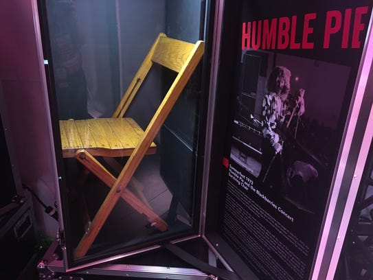 This chair is the only relic to survive 1973's Humble