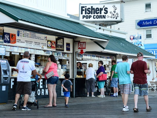 Fisher's Pop Corn located on 200 S Boardwalk in Ocean