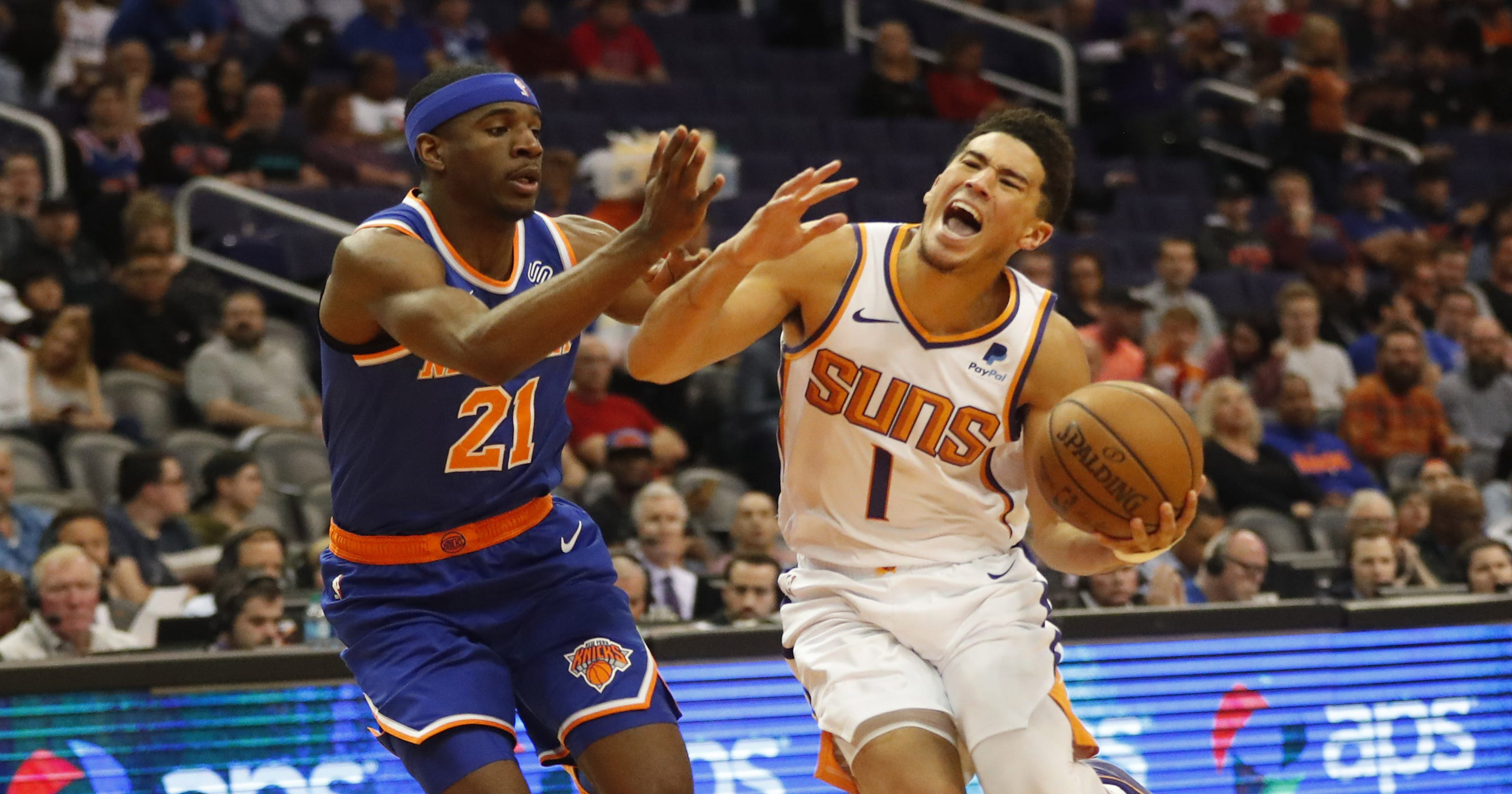Devin Booker leads Phoenix Suns past New York Knicks with 41 points 6910008a3