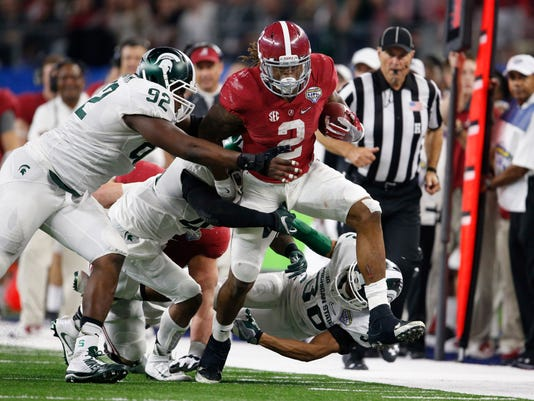 NCAA Football: Cotton Bowl-Michigan State vs Alabama