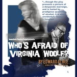 """The poster for Immediate Theatre Project's """"Who's Afraid of Virginia Woolf"""" at NC Stage Co."""