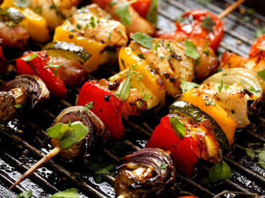Meat is great, but grilled veggies can be even tastier.