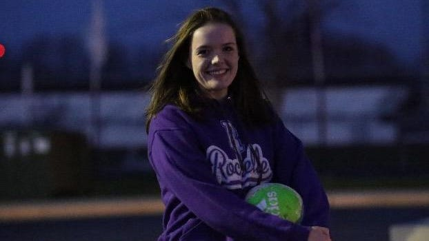 Kaitlynn Ost poses for a picture before the girls soccer season was canceled this past spring due to the coronavirus pandemic.