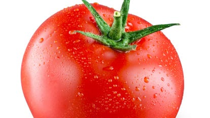 The tomato, biologically a fruit, is legally a vegetable in the U.S.
