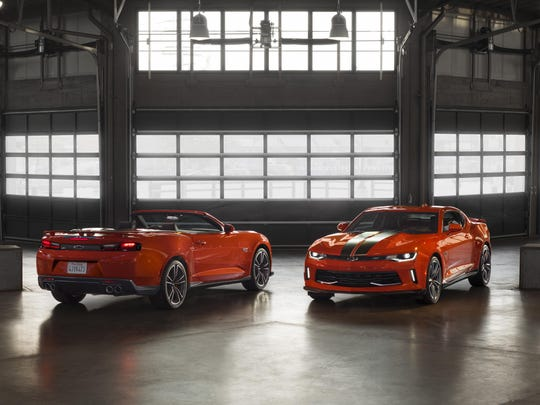 The commemorative package pays homage to iconic Hot Wheels features, including a Crush exterior color and stripes that replicate the toys' famous orange tracks.