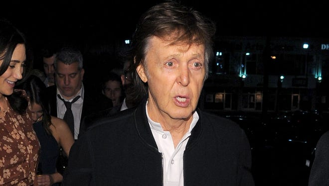 Paul McCartney attends the Republic Records Grammy Celebration at the Hyde Sunset Kitchen & Cocktail on February 15.