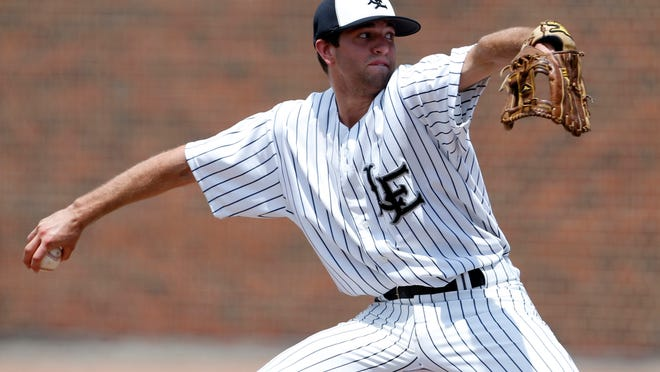 Lakota East pitcher Andy Almquist earned his sixth win of the season in a 7-2 victory over Harrison on Thursday.