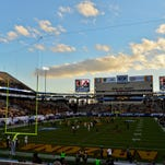 Sun Devil Stadium in Tempe.