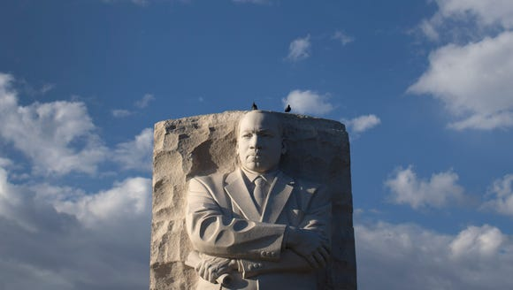 The Martin Luther King Jr. Memorial in Washington, D.C., has more than 3 million visitors a year.