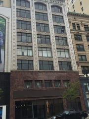 The Sanders building at 1525-1529 Woodward Ave. in downtown Detroit