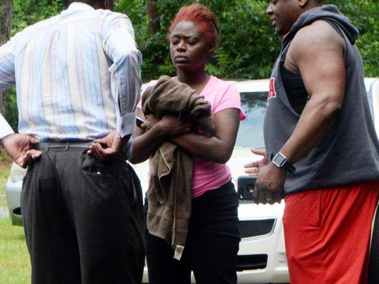 Mary Edmond, the mother of 7-year-old Daysean Combest,