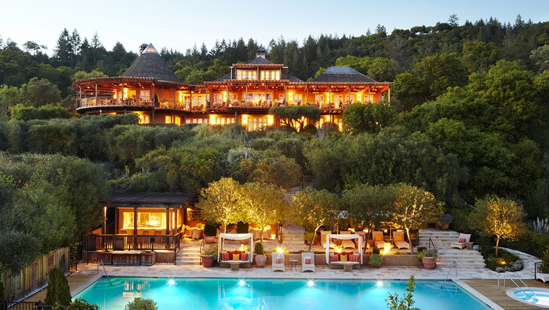 forbes travel guide names five properties