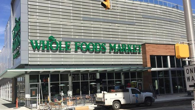 Whole Foods is set to open at 9 a.m. March 21 at 320 E. Market St.