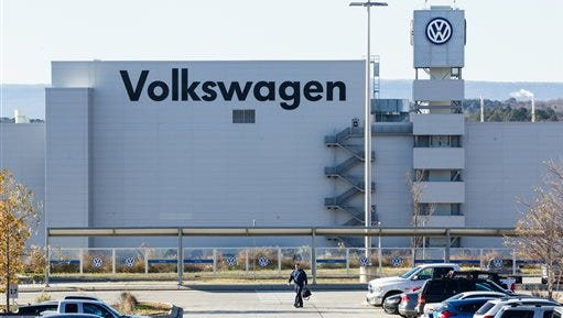 Volkswagen's Chattanooga facility.