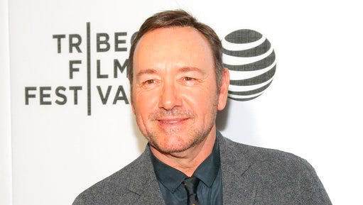 """FILE - In this April 19, 2016 file photo, Kevin Spacey attends the """"Elvis & Nixon"""" world premiere screening during the 2016 Tribeca Film Festival in New York. Spacey has been picked to host this year's Tony Awards on June 11, 2017 Radio City Music Hall in New York."""