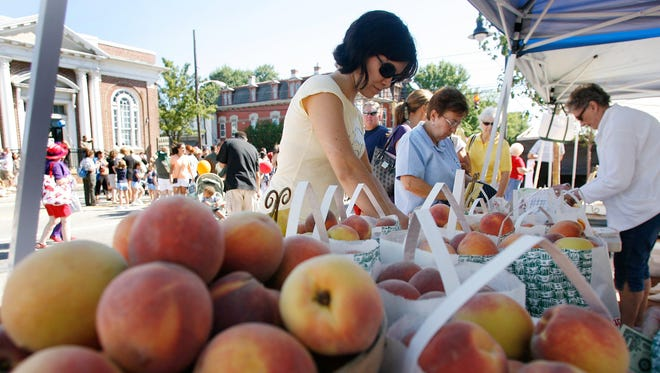 Thousands of people will converge on Middletown on Saturday for the 24th Annual Olde-Tyme Peach Festival hosted by the Middletown Historical Society.
