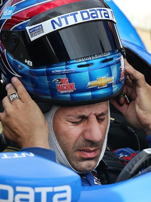 Tony Kanaan (seen here in May at Indianapolis Motor Speedway) said Saturday's frenetic IndyCar race would have been more acceptable with more people watching