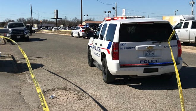 San Angelo Police are investigating a stabbing at the intersection of Martin Luther King and 18th Street about noon Friday, Jan. 12, 2018.