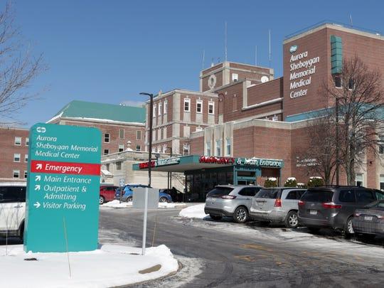 Aurora Sheboygan Memorial Medical Center as seen Tuesday March 14, 2017 in Sheboygan.
