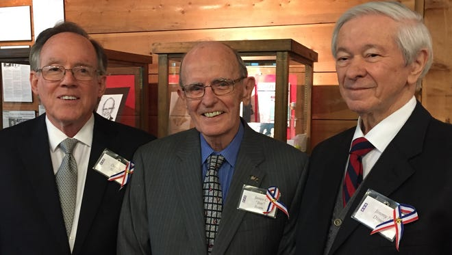 West Monroe Mayor Dave Norris, Lake Charles American Press columnist Jim Beam and former House Speaker Jimmy Dimos are among the latest inductees into the Louisiana Political Hall of Fame.
