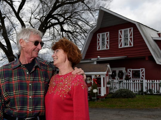 John and Janie Chaffin, owners of Chaffin's Barn Dinner Theatre, are celebrating their 50th season in 2016.