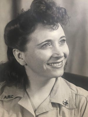 Writer Richard Bayne's mother, Josephine Gottfried Bayne, circa 1946.