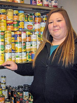Becca Seul, associate director of the MT One Stop, is the coordinator for the student food pantry.