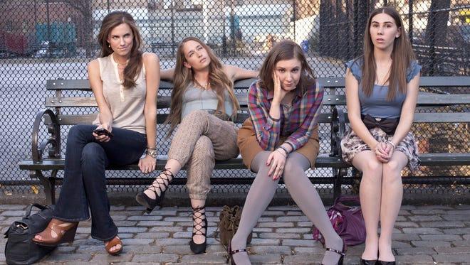 Allison Williams, Jemima Kirke, Lena Dunham, Zosia Mamet.