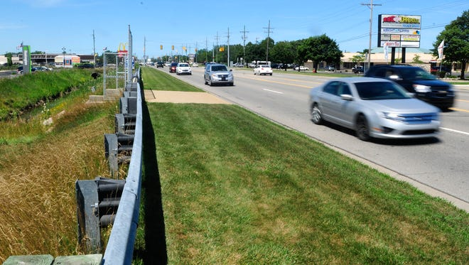 The M-25 bridge over the Howe Drain in Fort Gratiot needs to have two beams replaced. A detour will be planned for two to three weeks while construction is being completed.