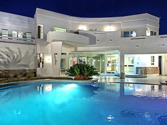 Mike Tyson is selling his home in Henderson, Nev.,
