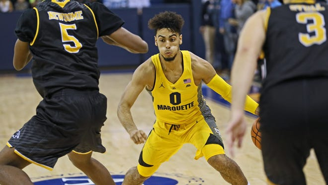 Markus Howard and Marquette take on Purdue in a Gavitt Games contest on Tuesday.