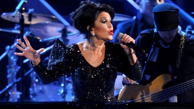 Alejandra Guzman performs at the Latin Grammy Awards in 2011 at the Mandalay Bay Resort & Casino in Las Vegas.