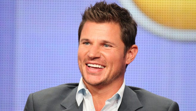 "Host Nick Lachey speaks during ""The Sing-Off"" panel at the NBC Universal portion of the 2011 Summer TCA Tour held at the Beverly Hilton Hotel."
