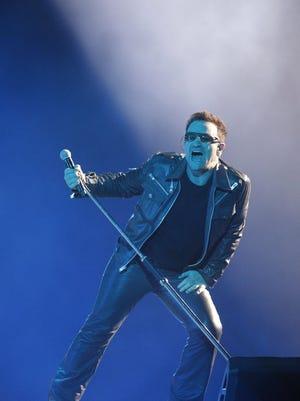Bono of U2.