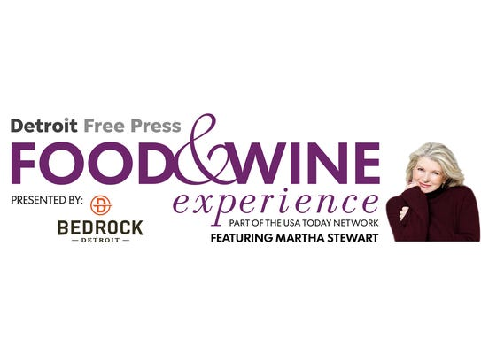Detroit Free Press Food & Wine experience featuring