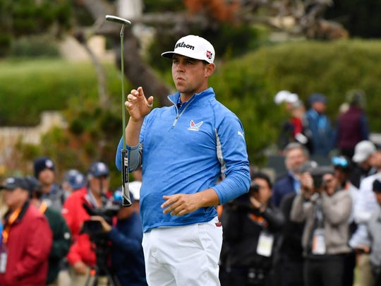 Gary Woodland leads the US Open but four great champions are hiding