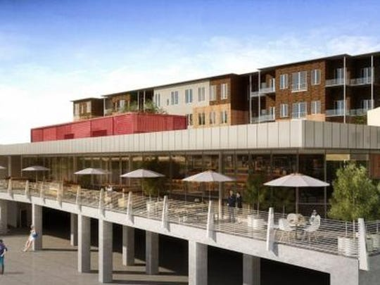 JQ Public House is coming to Riverpark Place on the Ohio River waterfront in early 2015. The mid-century modern restaurant will offer high-end dining fare.