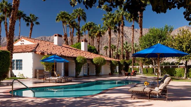 The Hacienda pool at La Quinta Resort and Club, a Waldorf Astoria property.