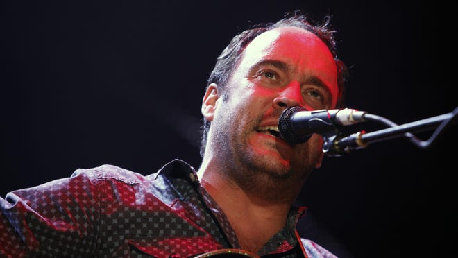 Dave Matthews brings his band's summer tour Tuesday to Wells Fargo Arena.