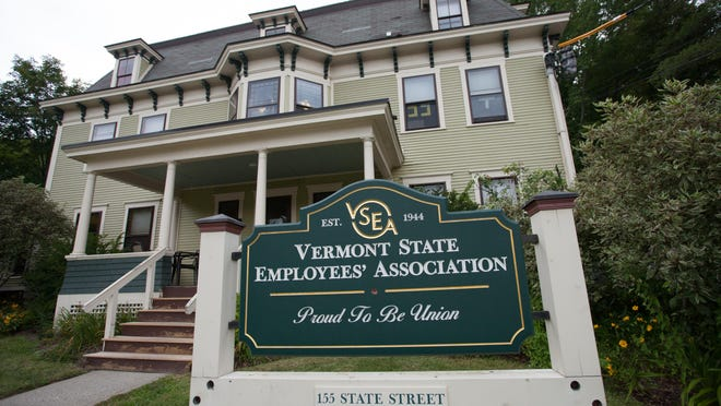 The Vermont State Employees' Association building in Montpelier.