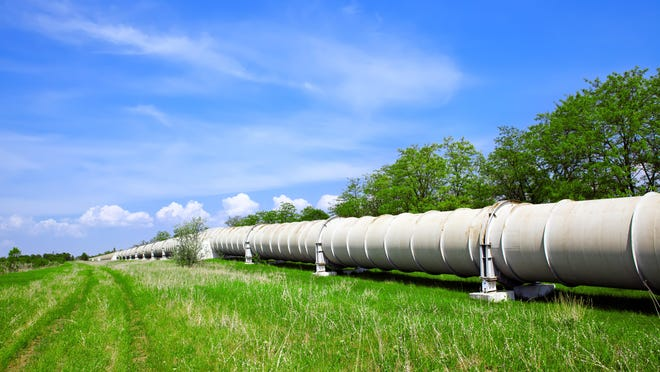 Stock photo of a pipeline.