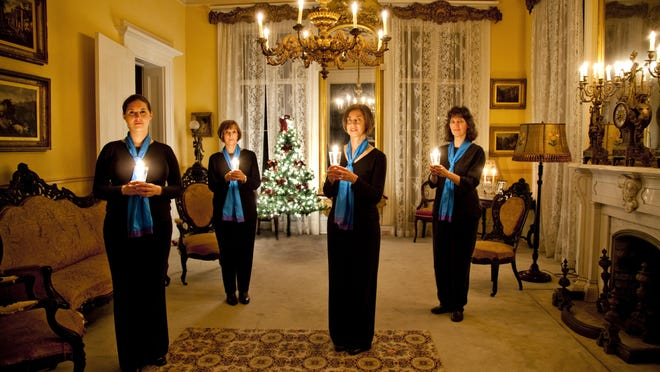 TALLAHASSEE, FLA. 11/1/10-VOCES 110110 CH-Voces Angelorum at Goodwood Plantation in Tallahassee...COLIN HACKLEY PHOTO