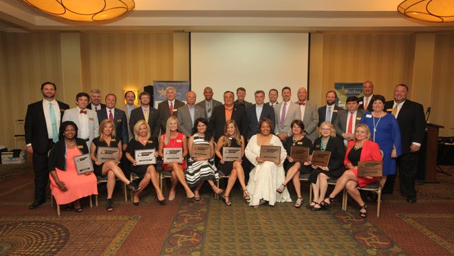 WestStar Leadership graduation was held Tuesday at the DoubleTree Hotel. The featured speaker was UT Martin Interim Chancellor Robert Smith. Award presentations were made to alumni of the program by Charley Deal, executive director for WestStar. Diplomas were presented by Smith.