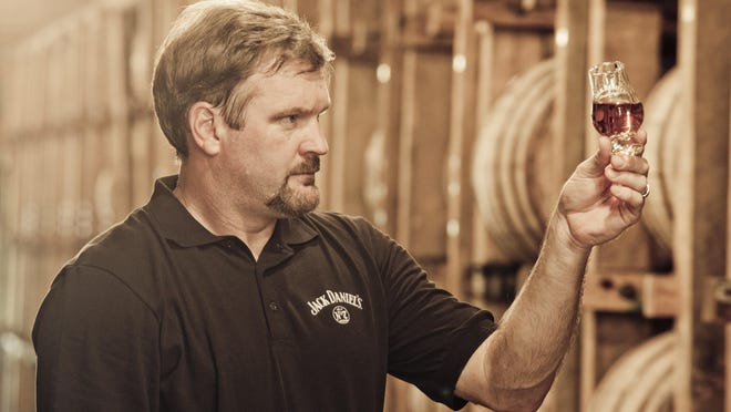 """""""There is not a normal day"""" working as a master distiller, Jeff Arnett said."""