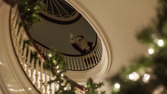 The George Eastman Museum is hosting a Holiday Homecoming — with festive displays, live music, refreshments and chances to visit with Santa — Thursday evening, Dec. 8.