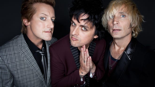 Green Day plays Riverbend Music Center on Aug. 20. Tickets go on sale Friday.