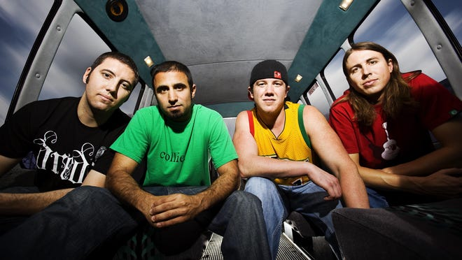 Reggae/rock act Rebelution will headline Grizzly Fest in Fresno this weekend.