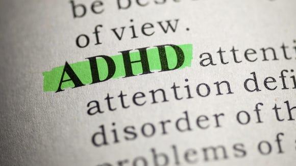 ADHD stock image
