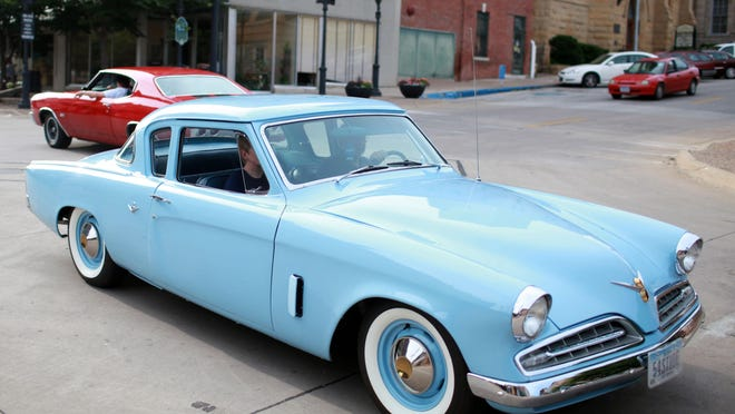 Car enthusiast drive up and down Jefferson Street in downtown Burlington. Cruise Night is 5 to 9 p.m. July 17 on Jefferson Street in downtown Burlington. A Cruise Night will be held from 5 to 9 p.m. Friday on Jefferson Street in downtown Burlington.
